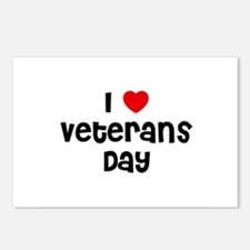 I * Veterans Day Postcards (Package of 8)