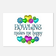 Bowling Happiness Postcards (Package of 8)