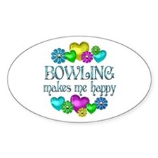 Bowling Happiness Decal