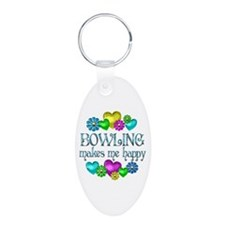 Bowling Happiness Keychains