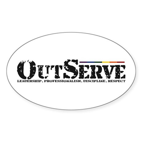 OutServe Sticker (Oval)