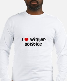 I * Winter Solstice Long Sleeve T-Shirt