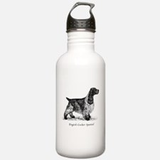 English Cocker Spaniel Water Bottle