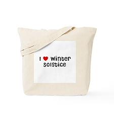 I * Winter Solstice Tote Bag