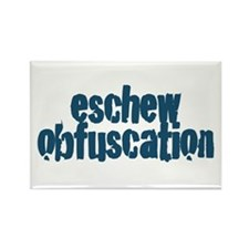 Eschew Obfuscation Rectangle Magnet (10 pack)