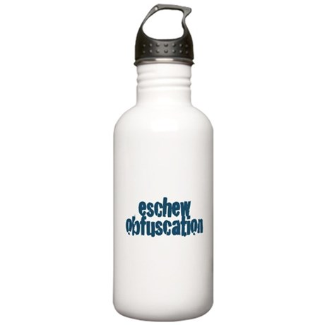 Eschew Obfuscation Stainless Water Bottle 1.0L