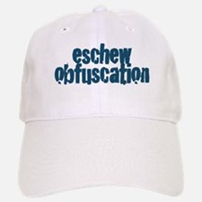 Eschew Obfuscation Baseball Baseball Cap