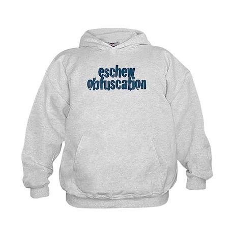 Eschew Obfuscation Kids Hoodie