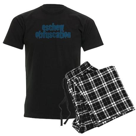 Eschew Obfuscation Men's Dark Pajamas