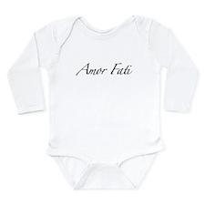 Amor Fati Long Sleeve Infant Bodysuit