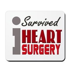 Heart Surgery Survivor Mousepad
