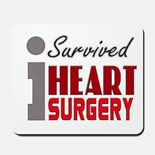 Heart Surgery Survivor Mousepad