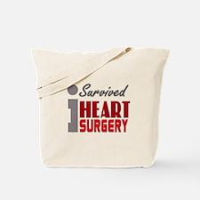 Heart Surgery Survivor Tote Bag