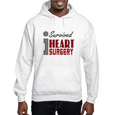 Heart Surgery Survivor Hoodie