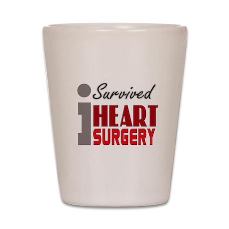Heart Surgery Survivor Shot Glass