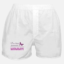 Promoted To Mommy Boxer Shorts
