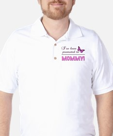 Promoted To Mommy T-Shirt