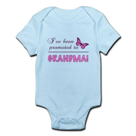 Promoted To Grandma Infant Bodysuit