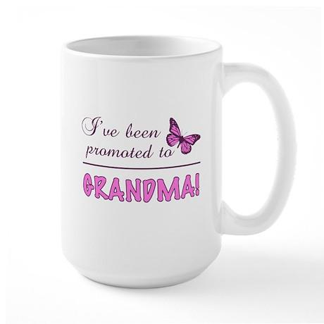 Promoted To Grandma Large Mug