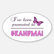 Promoted To Grandma Decal