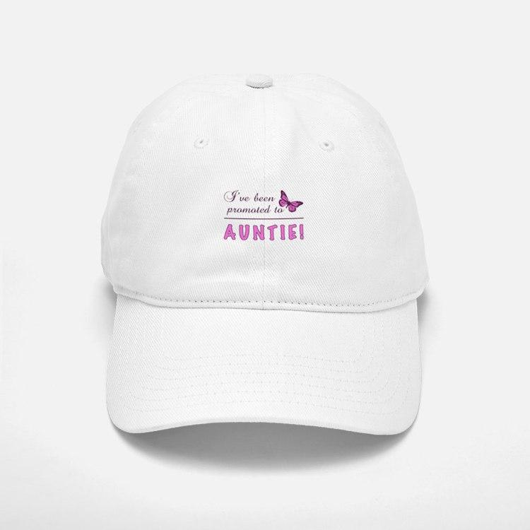 Promoted To Auntie Baseball Baseball Cap