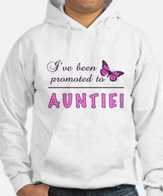 Promoted To Auntie Hoodie