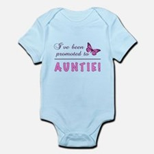 Promoted To Auntie Infant Bodysuit