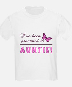 Promoted To Auntie T-Shirt