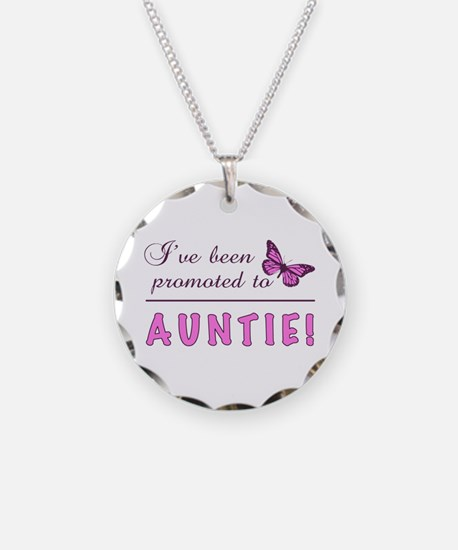 Promoted To Auntie Necklace