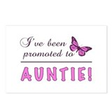 Aunty to be Postcards