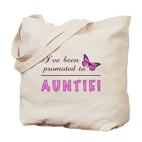 Promoted To Auntie Tote Bag