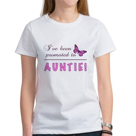 Promoted To Auntie Women's T-Shirt