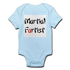 Martial Fartist Infant Bodysuit
