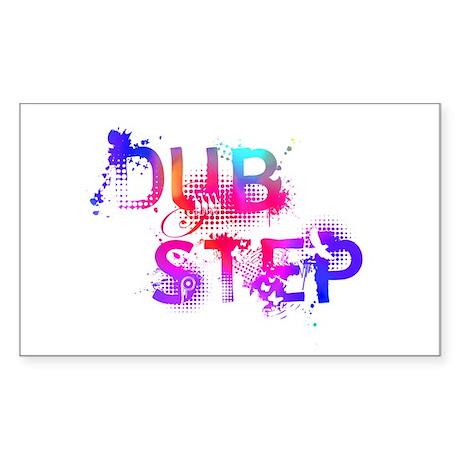 Dubstep Sticker (Rectangle)