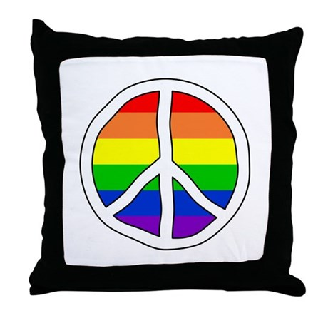 LGBT Rights & Pride Rainbow - Throw Pillow