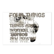 Four Things Greater ... Postcards (Package of 8)