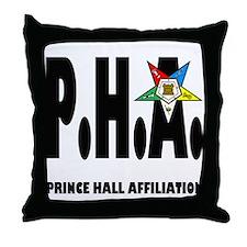 Funny Prince hall Throw Pillow
