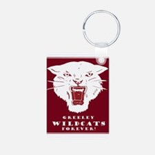 Greeley Wildcats Forever! Keychains