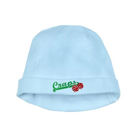 I Love Craps baby hat