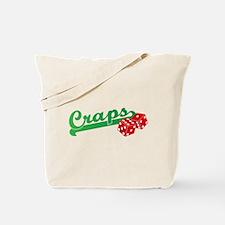 I Love Craps Tote Bag