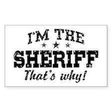 Sheriff Decal