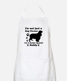 Cocker Spaniel daddy Apron