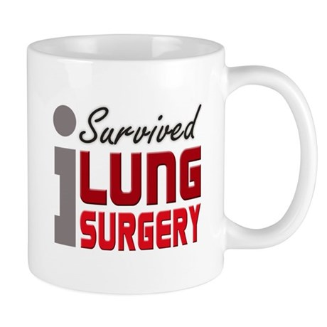 Lung Surgery Survivor Mug