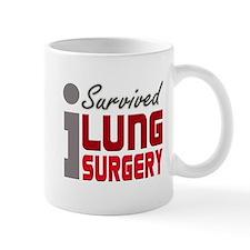 Lung Surgery Survivor Mug