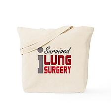 Lung Surgery Survivor Tote Bag