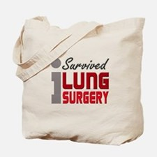 Lung Surgery Survivor Tote Bag