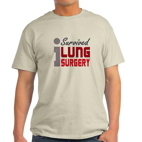 Lung Surgery Survivor Light T-Shirt