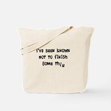 General Humor Tote Bag