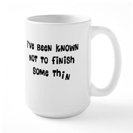 General Humor Large Mug