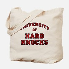 University Hard Knocks Tote Bag